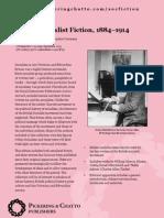 British Socialist Fiction Colour Leaflet