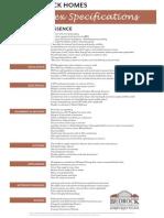 Essence Duplex Specifications 2012
