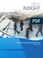 4 Business Continuity Management