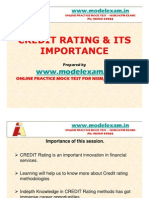 What is Credit Rating? NISM,NCFM,AMFI MOCK TEST AT WWW.MODELEXAM.IN.CREDIT RATING PPT. POWER POINT PRESENTATION