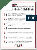 Key Premises of Mag Marketing Dan K.