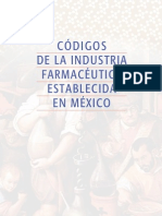 Codigos Para La Industria Farmaceutica Establecida en Mexico