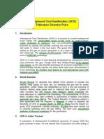 Underground Coal Gasification-TC Patra-3 Aug 04