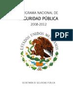 Porgrama Nacional Seguridad Publica