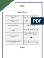 Sourat Al-Falaq et son éxégèse