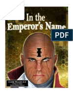 In the Emperors Name 2nd Edition Core Rules