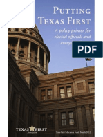 Putting Texas First
