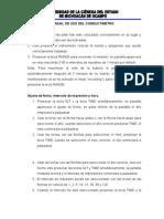 Manual de Uso Del Conductimetro