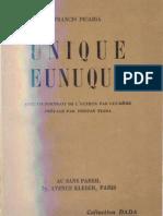 Francis Picabia Unique Eunuque