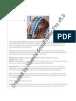 Beaded Loopy Headband and Scrunchie