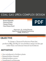 Coal Gas Urea Complex Design