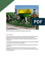 Necesidad Sector Agrícola