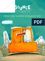 Spring and Summer Highlights Brochure 2012