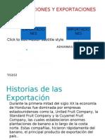 Exportaciones y Importaciones