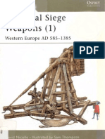 New Vanguard 058 - Medieval Siege Weapons (1) - Western Europe AD 585-1385