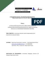 LA PSICOLOGÍA EDUCATIVA EN EL MAPA CURRICULAR DE LA LICENCIATURA EN INTERVENCIÓN EDUCATIVA.   LA PSICOLOGIA ED