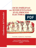 Voces indigenas de Huehuetenango