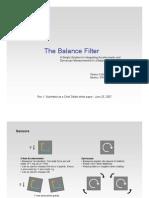 Filter kalman vs complementary