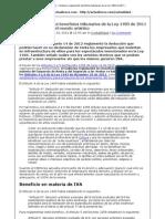 Ley de Espectaculos e Infrestructura