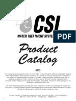 CSI Water Catalog 2013