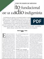 El Mito Fundacional de La Radio Indigenista