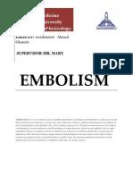 Embolism
