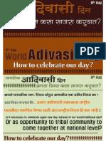 Adivasi Day What to Do