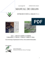Manual de GRASS - Introducción a GRASS V.1.1 [Carlos Campillo Torres]