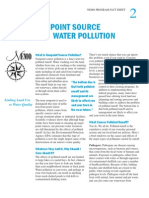 Nonpoint Source Water Pollution