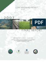 Jordan Cove Watershed Project 2007 Report