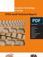 SITES 2006 Technical Report