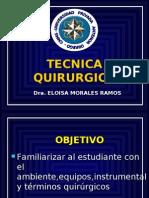 1. Tecnica Quirurgica.