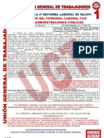 UGT Sobre Despido en AAPP