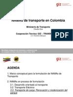 Namas Transporte Colombia