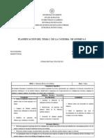 PLANIFICACIÓN TEMA 1