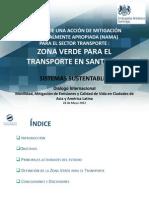 Zona Verde Transporte Santiago