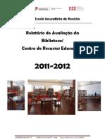 relatório avaliação Biblioteca2012_ESPENICHE