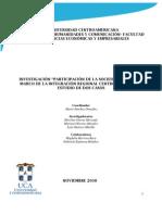 Informe Final Nicaragua Noviembre 2010
