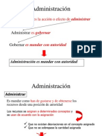 Direccion de Empresas (i Clase)