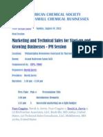 Marketing & Technical Sales
