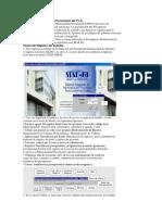 Aplicación Práctica de la Formulción del P