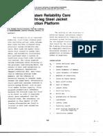 Structural Study Eight Leg Steel Jacket Offshore Platform