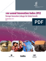 The Global Innovation Index 2012