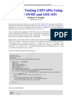 Problems Testing UEFI APIs Using QEMU OVMF and GNU-EFI