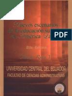 Libro - Nuevos Escenarios de La Educacion Superior en America Latina - Claudio Rama
