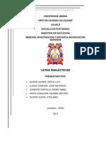 Leyes de La Dialectica (2007)