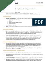 Datasheet B Snap Client Deployment Overview