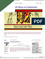 Espiritualidad Maya en Guatemala_ Sexualidad Precolombina