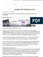 El ovni sobre el estadio del Chelsea y otros «expedientes X» - ABC