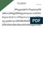 Greylighting Transcription Julian Lage